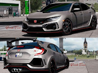 Mod Honda Civic type R And Civic Fc5 2017 ETS2
