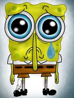 Gambar Spongebob Menangis Muka Lucu Kartun Terbaru