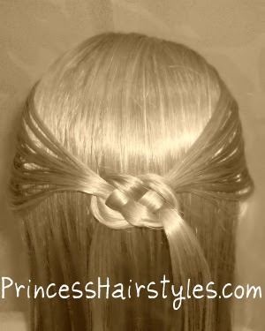 celtic knot hairstyle