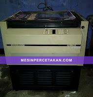 mesin percetakan platemaker