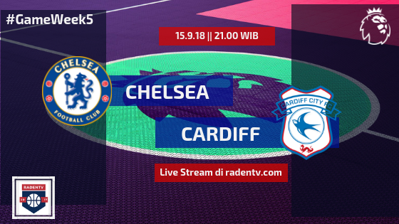 Streaming Chelsea vs Cardiff