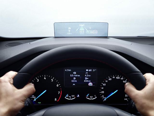 Novo Ford Focus 2019 - interior