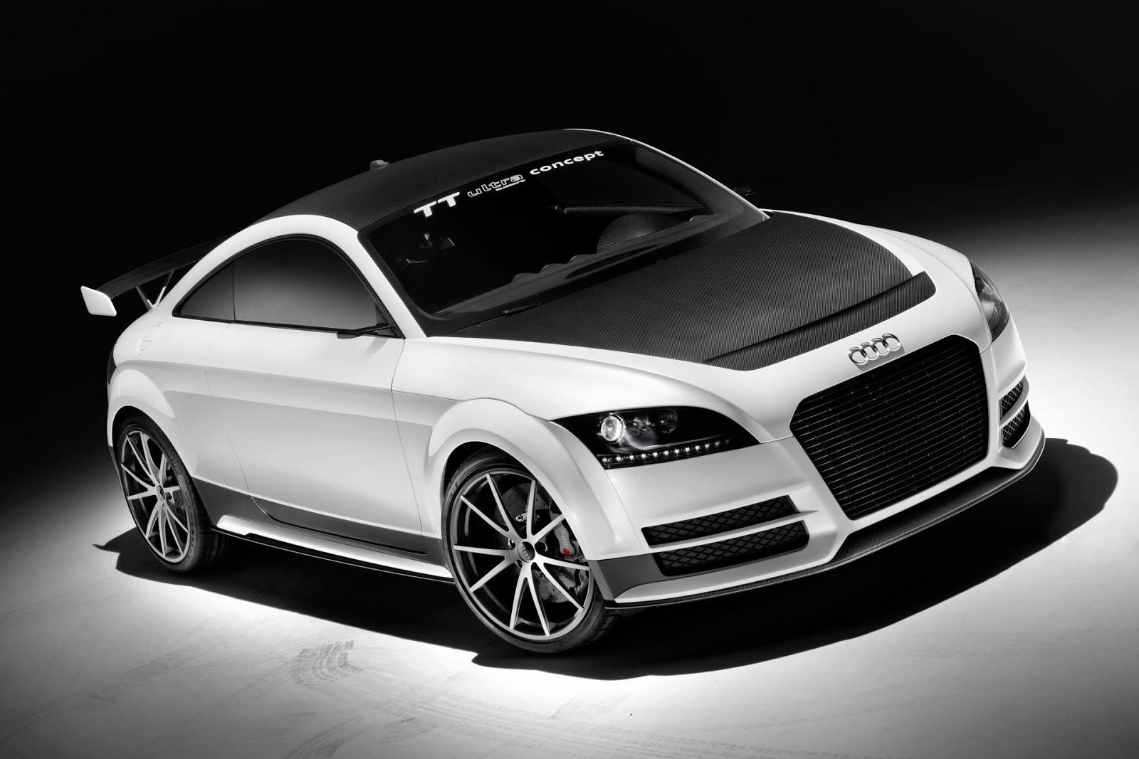 audi tt ultra quattro concept 2013 hottest car wallpapers bestgarage. Black Bedroom Furniture Sets. Home Design Ideas
