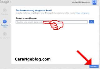Cara Menambahkan Teman di Google+
