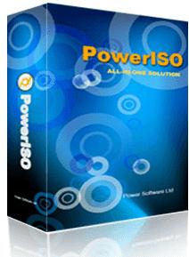 تحميل برنامج PowerISO لحرق الاسطوانات الايزو بسرعه عالية