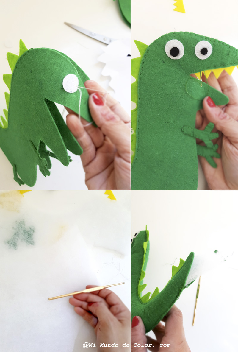 diy peppa pig en fieltro