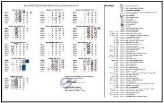 Petunjuk Pembuatan Kalender Pendidikan Sekolah