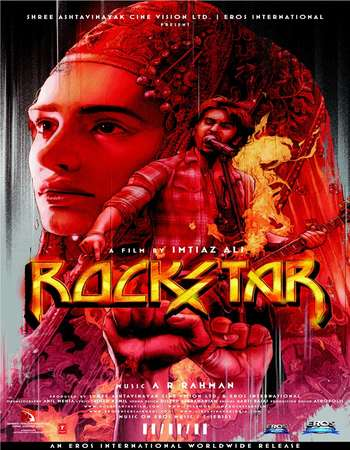 Rockstar 2011 Hindi 650MB BRRip 720p ESubs HEVC