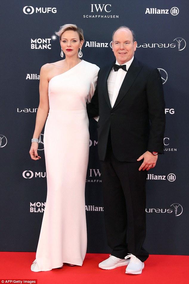 Princess Charlene Wears Stella McCartney to the 2018 Laureus Awards ...