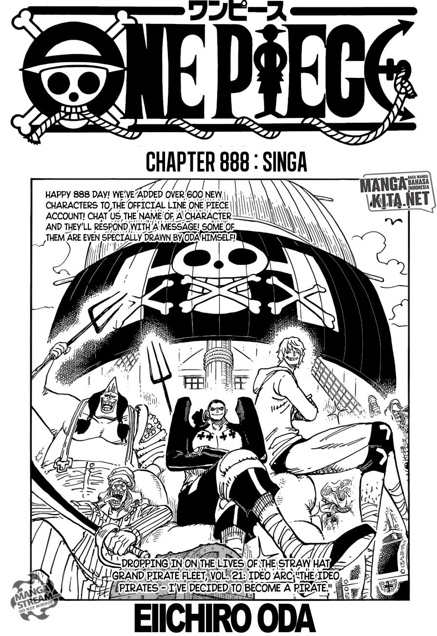 One Piece Chapter 888-2
