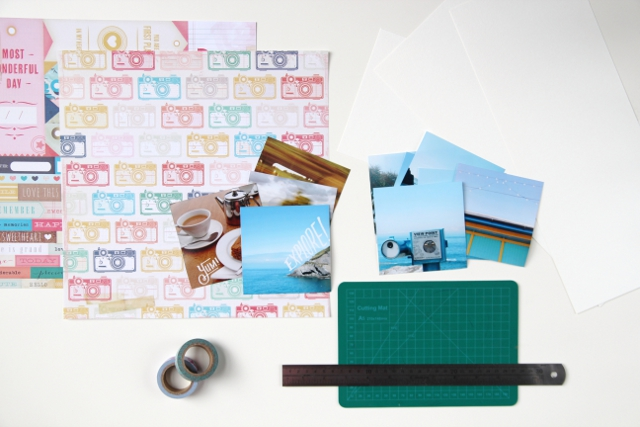 Things you'll need to make your own Diy Instagram Mini Album