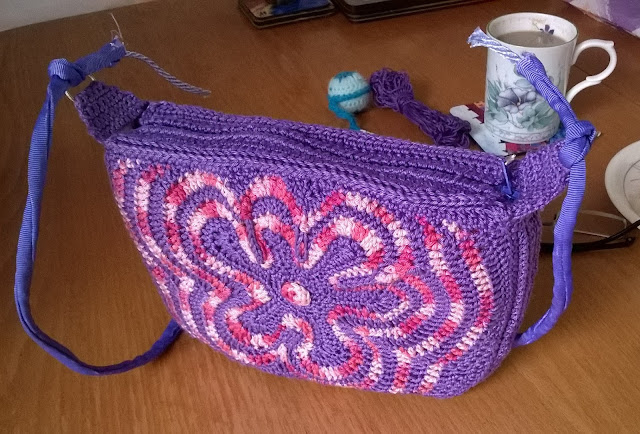 Tina's Allsorts, Freestyle Purple Bag