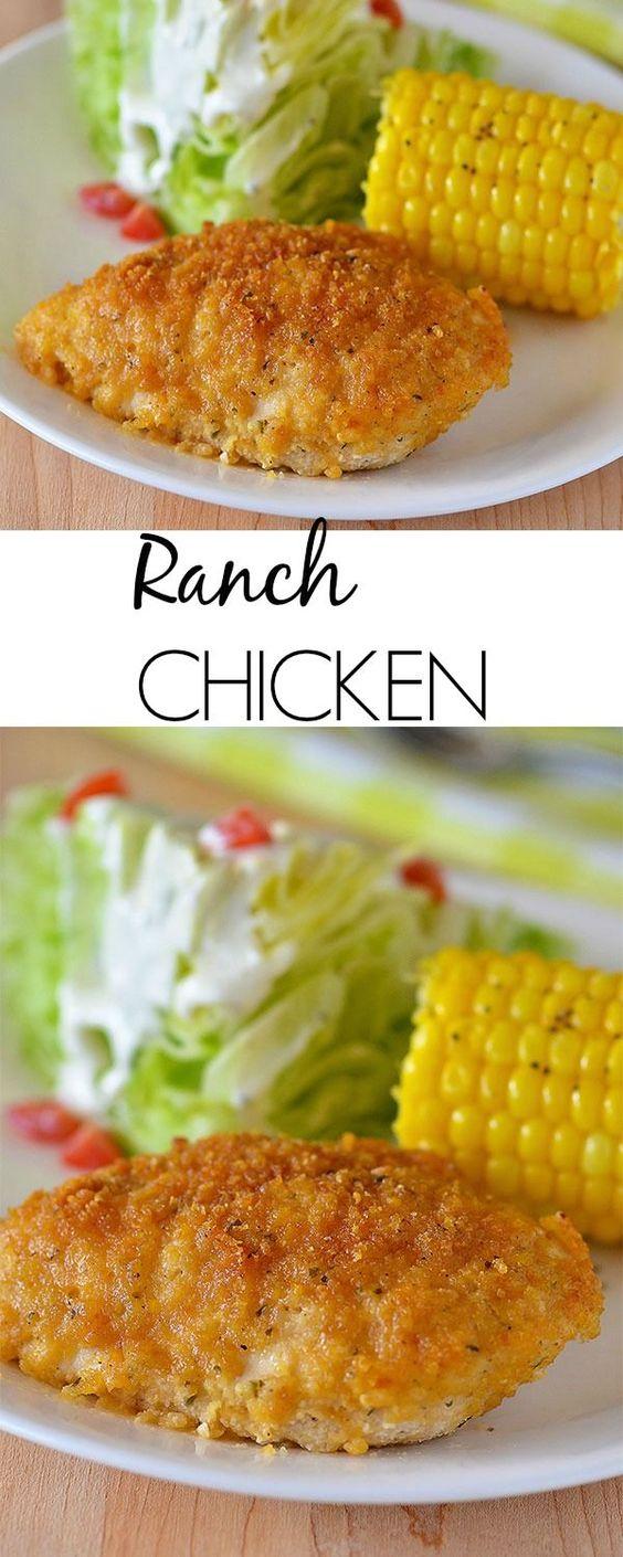 EASY RANCH CHICKEN RECIPE