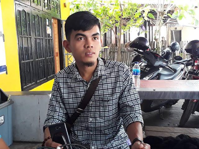 Ahyar, Korlap Aksi PTT, GTT di Mamuju