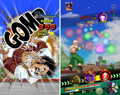 Tampilan Game DRAGON BALL Z DOKKAN BATTLE