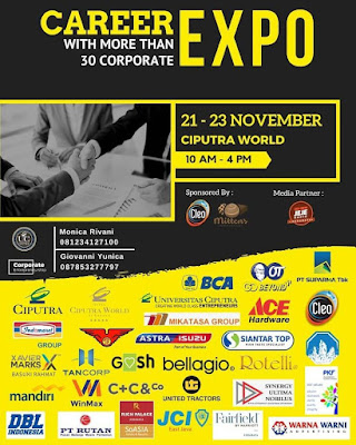 Career Expo Surabaya November 2018 Terbaru