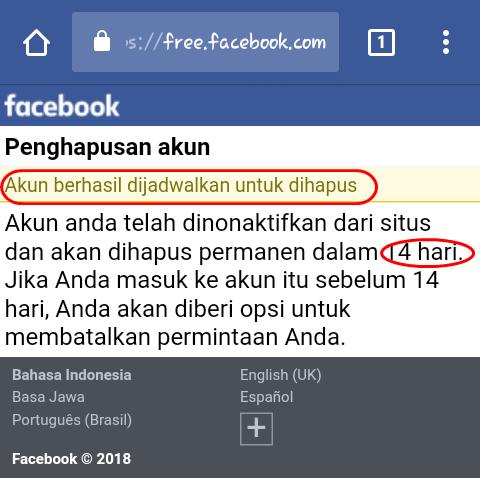 cara menghapus fb permanen lewat hp, cara menghapus akun facebook permanen, cara menghapus akun facebook permanen, hapus akun fb lewat hp, tutup akun fb permanen