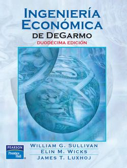 Ingeniería Económica de DeGarmo Sullivan 12ª Edición
