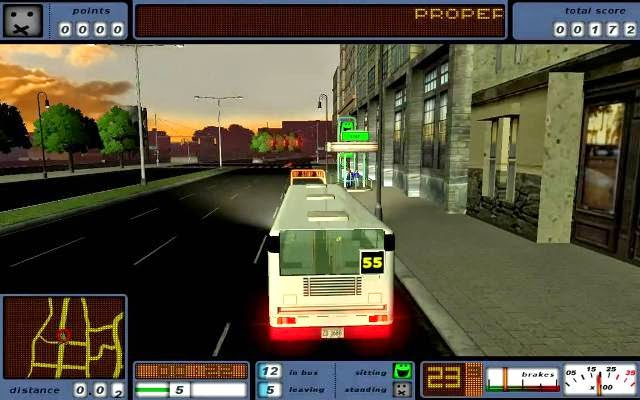 Bus Driver Game Free Download PC Games