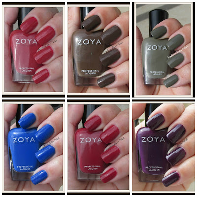 Zoya's Fall Collection Focus ... Swatch and Review