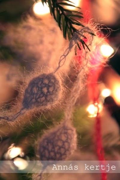 Como hacer una Guirnalda de Crochet para Navidad