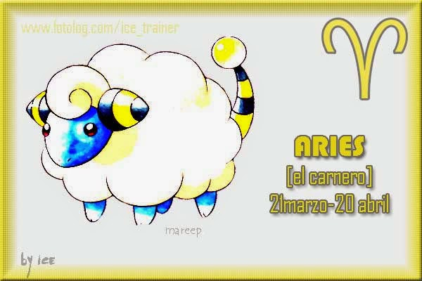 Horoscopo Pokemon Signo Aries