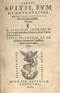 De Re Culinaria, 1541
