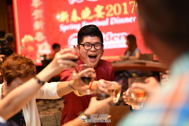 Golden Destinations CNY Dinner Grand Palace Pavilion KL featuring Jack Lim 林德荣 财神爷