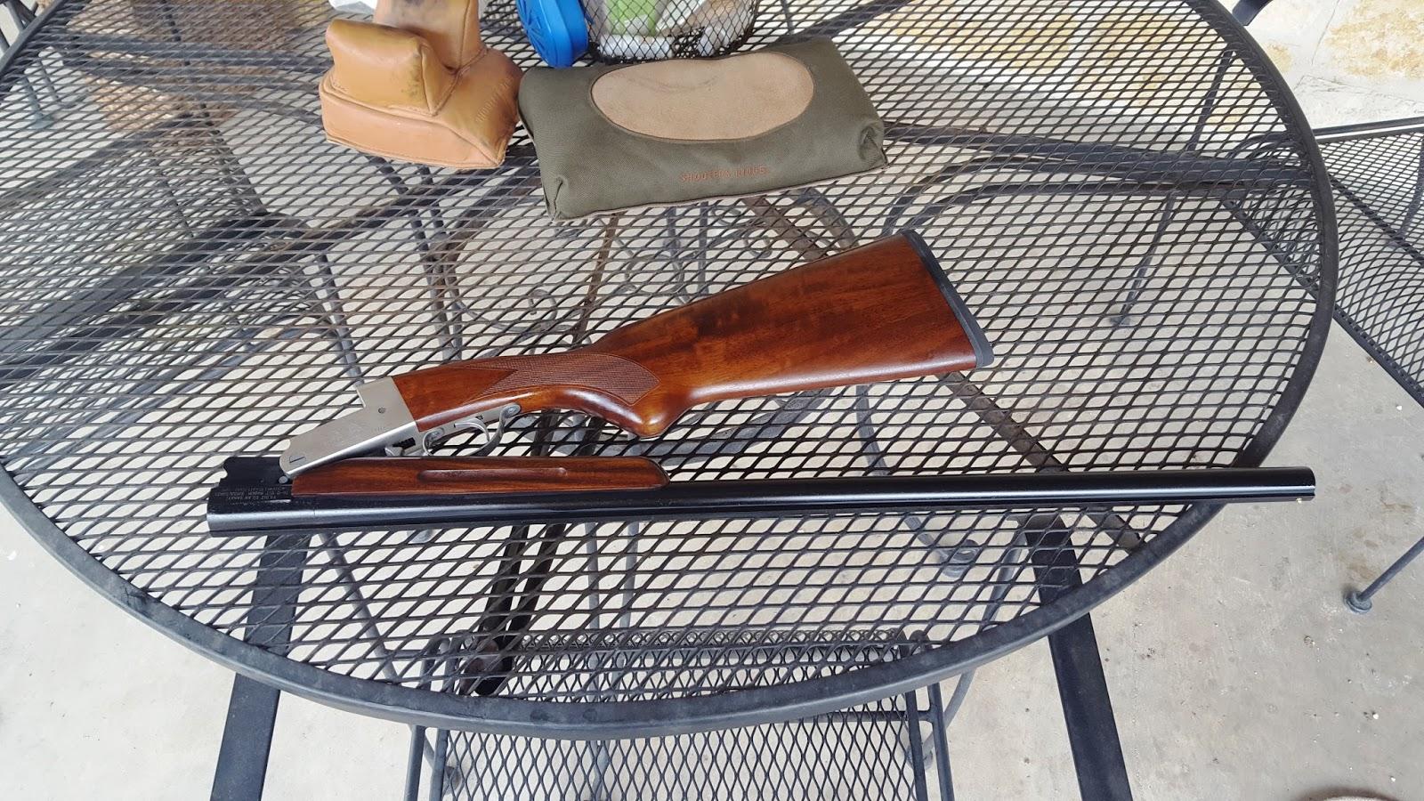 Wild Ed's Texas Outdoors: The Yildiz 12 Gauge Folding Shotgun