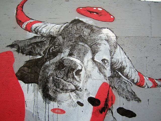 Street Art By Dutch Artist Joram Roukes In Miami For Art Basel 2013. 2