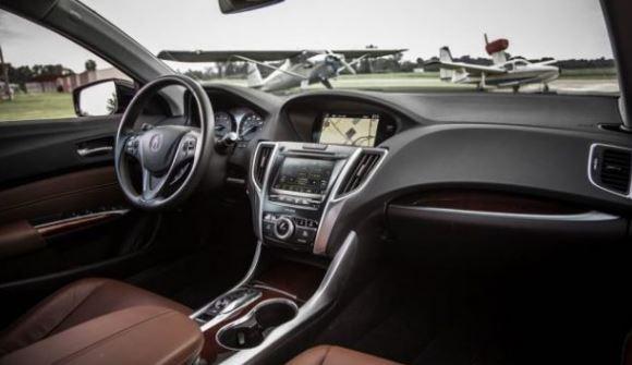 2018 Acura TLX Spied  Interior