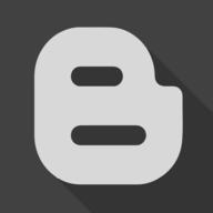 blogger shadow button