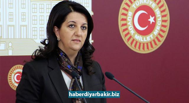 DİYARBAKIR-Hakkında yakalanma kararı çıkarılan HDP İstanbul Milletvekili ve Meclis Başkanvekili Pervin Buldan Diyarbakır'da gözaltına alındı.