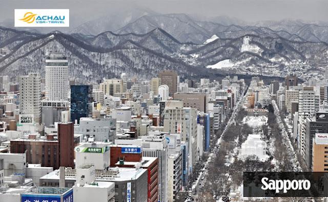 Sapporo-Những điểm đến Nhật Bản đẹp nhất vào mùa đông