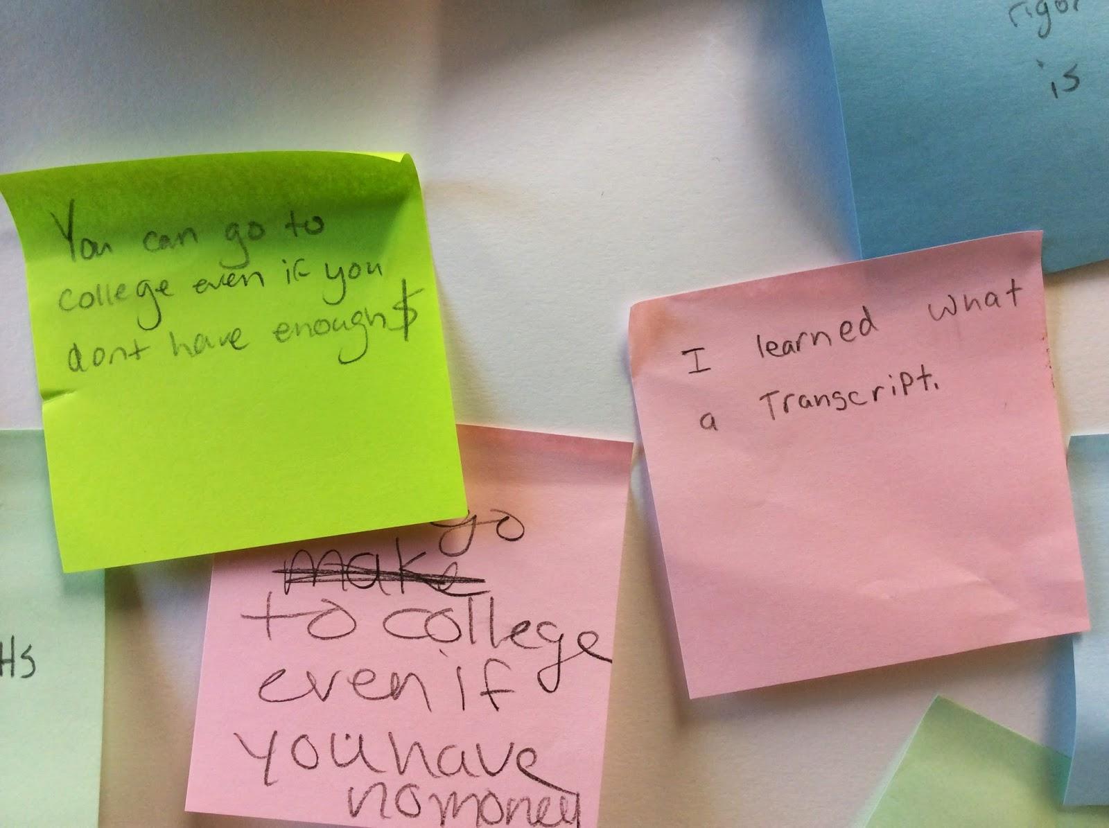 7th Grade College Awareness Lesson
