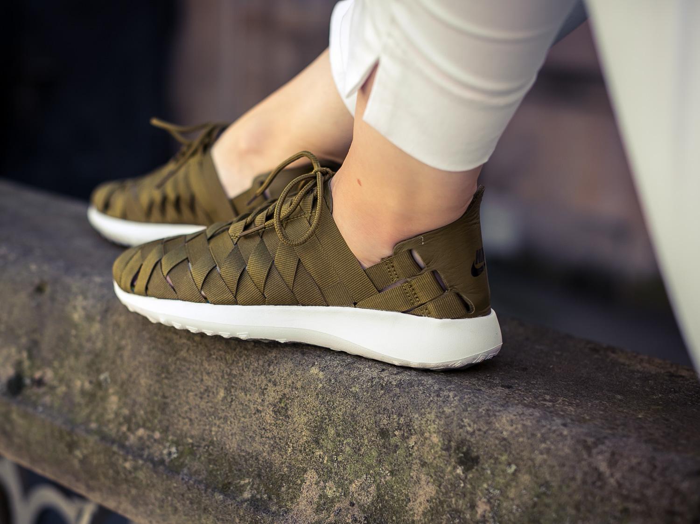 1d8521de389738 SOLEKITCHEN  Nike womens Juvenate Woven Olive Flak
