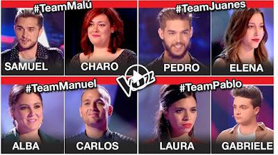 Semifinales La Voz 2017. Adelanto