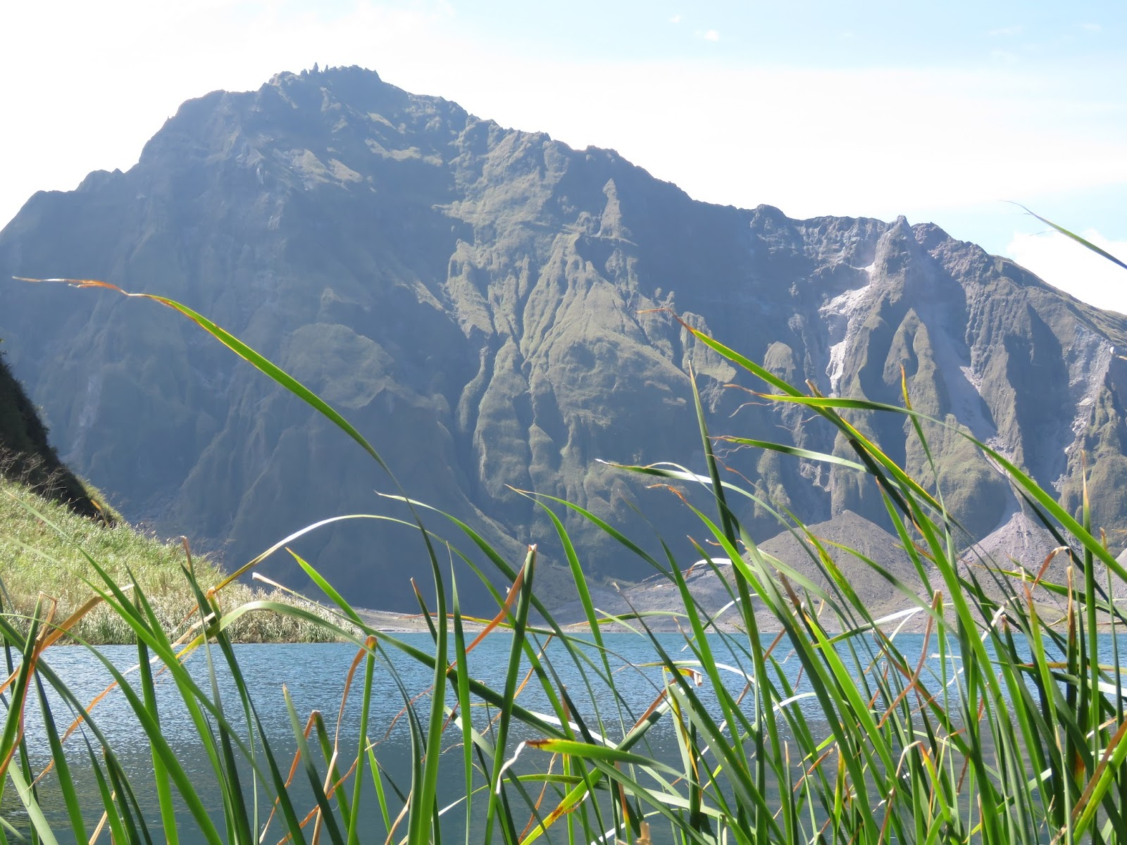 Crater of Mt. Pinatubo
