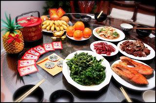 Resultado de imagem para comidas no jantar do ano novo lunar