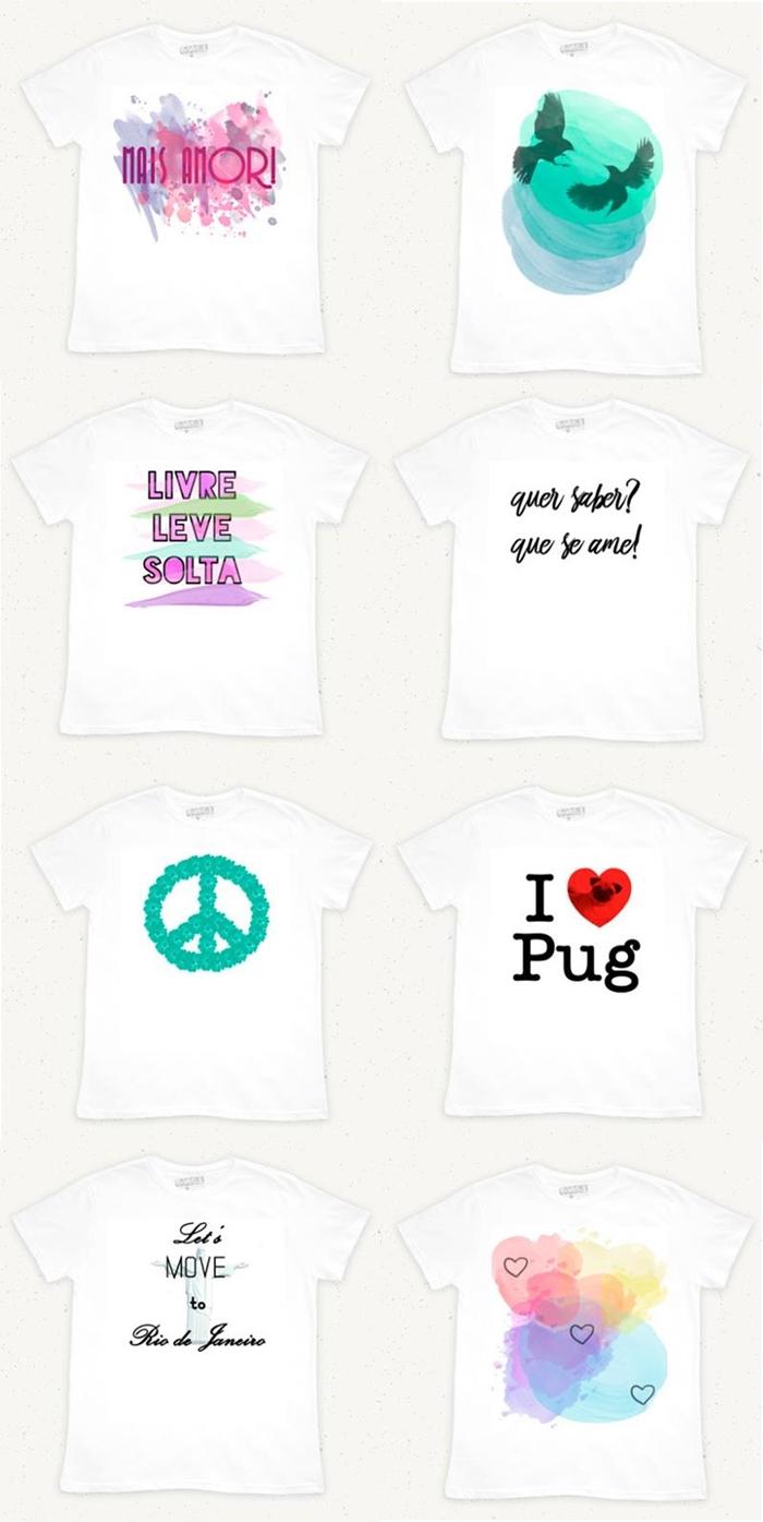 Camisetas com estampas criativas Vandal