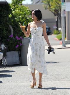 Vanessa Hudgens in Sundress