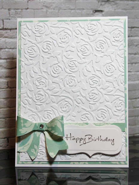 Darice Butterfly Embossing Folder Card Hope And Chances Creativity Bow Simple