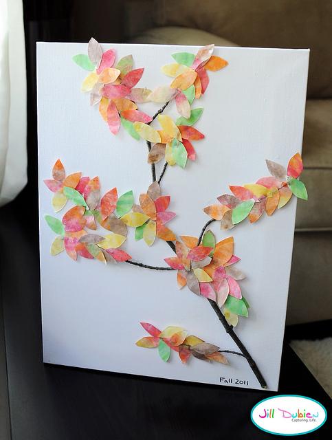 Autumn Tree Craft Preschool