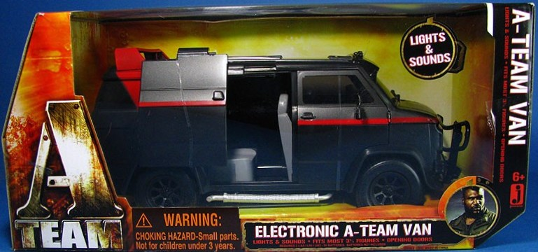 One Of The Trademarks A Team Is BAs GMC Van Which Uses As Mobile HeadquartersIt Comes No Surprise That Movie Would Include