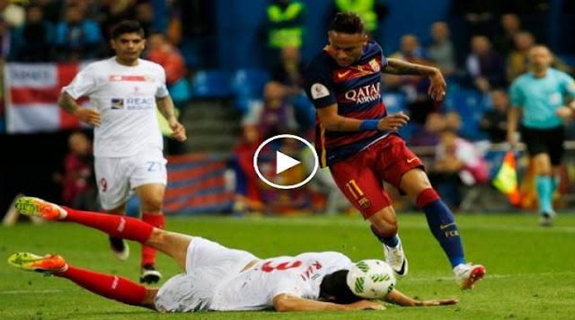 VIDEO. Quand Rami tacle Neymar avec la tête