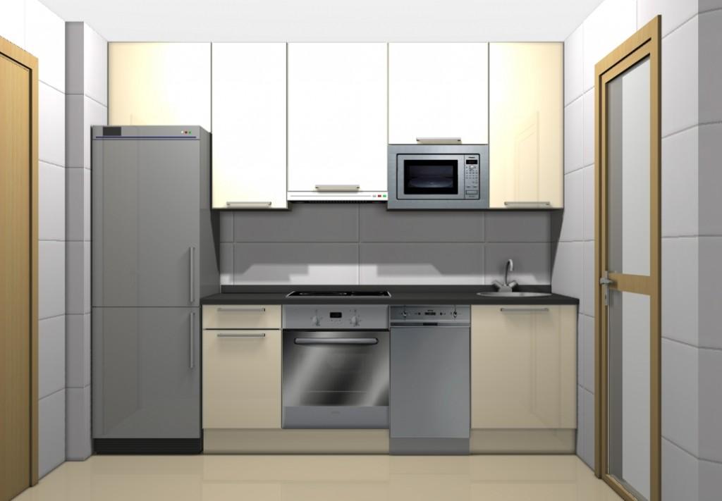 Distribuci n de la cocina cocinas los molinos 950 100 for Disenos de muebles de cocina colgantes