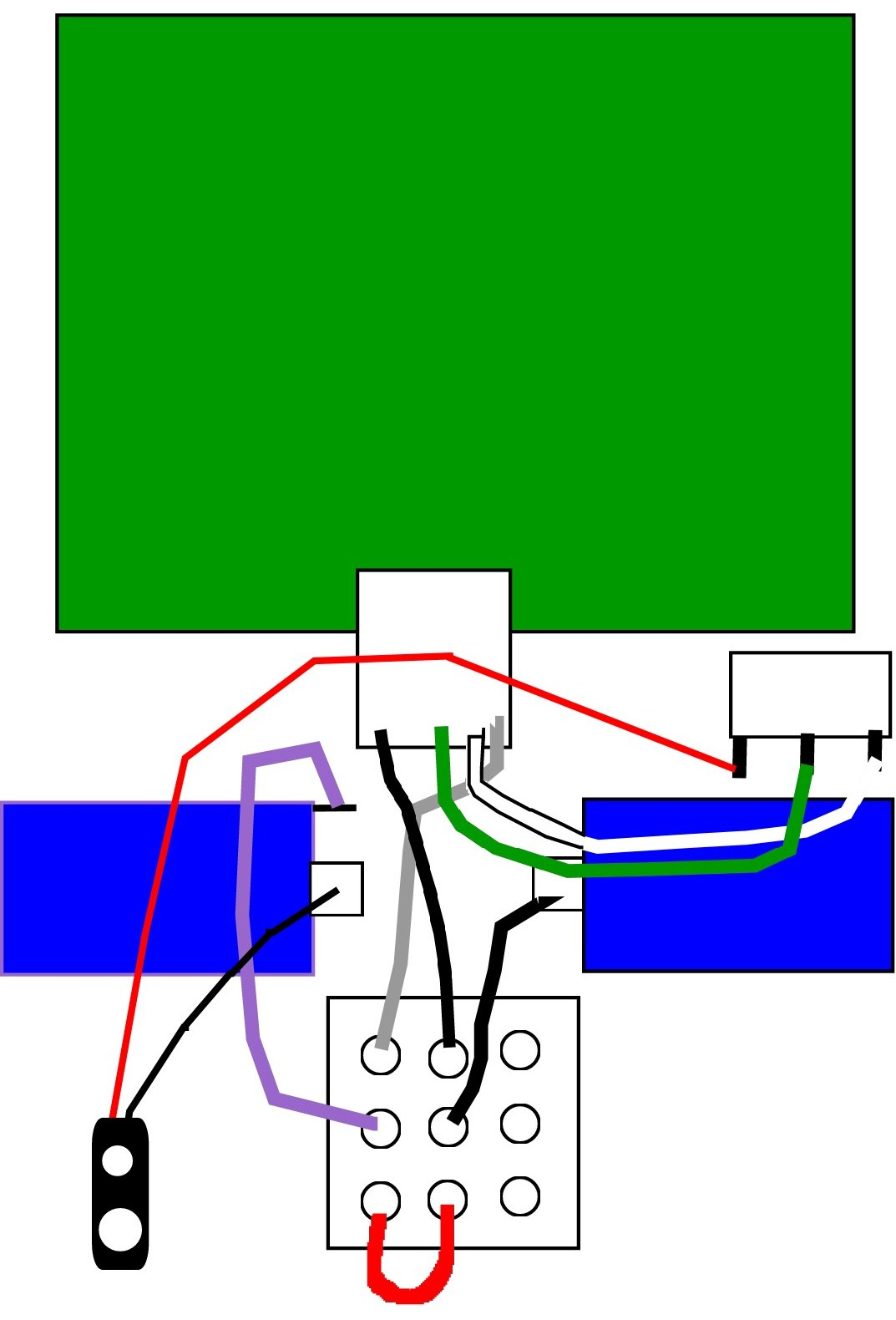 3pdt Wiring Diagram Moment Fx Dod Yjm 308 Preamp True Bypass Mod Its Hard To Make Out The In Photo And Is Pretty Crude But Between Two Of Them You Should Be Able Discern Where Wires