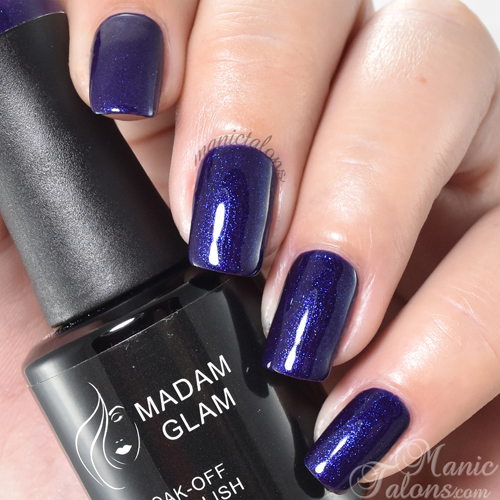 Madam Glam Gel Polish Slow Burn Swatch
