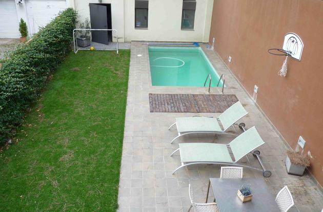 Decoraci n minimalista y contempor nea albercas en el for Albercas en espacios reducidos