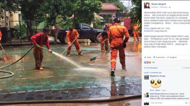 Banyak Beredar Berita Hoax Banjir Sudutkan AHOK, Status Orang Tua Siswa SMA N 8 Jakarta Ungkap Fakta Mengejutkan...